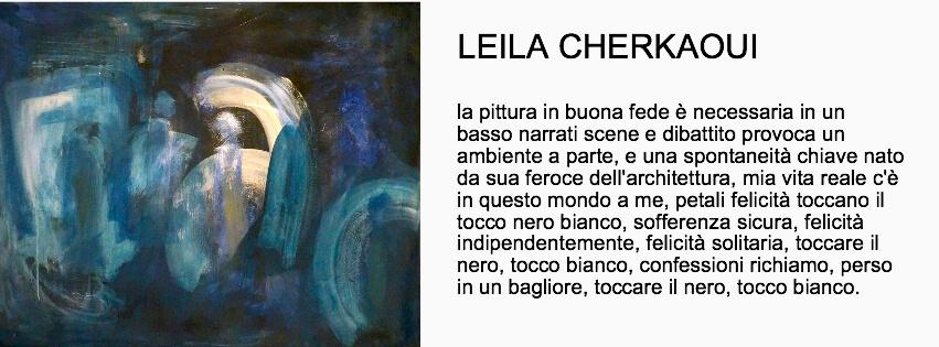 Leila Cherakoui -Mostra Spiritual Bridges